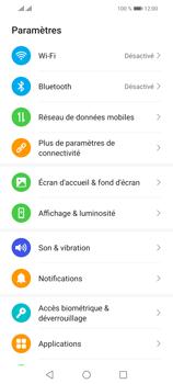 Huawei P Smart 2021 - Internet et connexion - Désactiver la connexion Internet - Étape 3