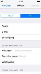Apple iphone-se-met-ios-12-model-a1723 - E-mail - Handmatig instellen - Stap 12