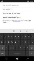Microsoft Lumia 550 - e-mail - hoe te versturen - stap 9