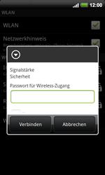 HTC A9191 Desire HD - WLAN - Manuelle Konfiguration - Schritt 8