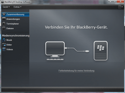 BlackBerry 8520 Curve - Software - Update - Schritt 2