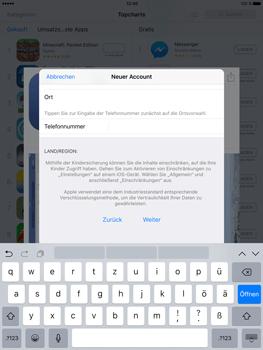 Apple iPad Pro 9.7 inch - Apps - Konto anlegen und einrichten - 31 / 35