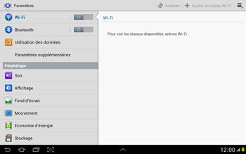 Samsung N8000 Galaxy Note 10-1 - Internet - activer ou désactiver - Étape 4