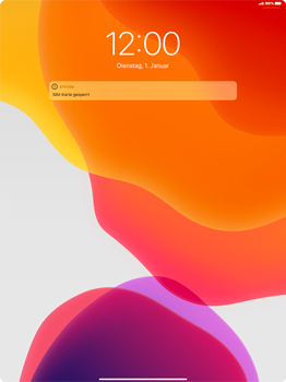 Apple iPad Pro 12.9 (2nd gen) - iPadOS 13 - Internet und Datenroaming - Manuelle Konfiguration - Schritt 13