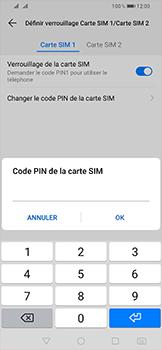 Huawei P Smart (2019) - Sécurité - modifier SIM PIN - Étape 10