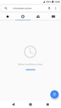 Sony Xperia XZ2 Premium - Anrufe - Rufumleitungen setzen und löschen - Schritt 4