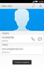 Alcatel OT-5050X Pop S3 - Contact, Appels, SMS/MMS - Ajouter un contact - Étape 13