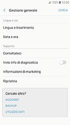 Samsung Galaxy A3 (2017) - Dispositivo - Ripristino delle impostazioni originali - Fase 6