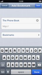 Apple iPhone 5 - Internet - Internet browsing - Step 10