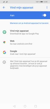 Huawei P30 Pro - Toestel - stel Zoek mijn mobiel in - Stap 6