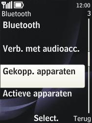 Nokia 3720 classic - bluetooth - headset, carkit verbinding - stap 6