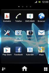 Sony Xperia Miro - Apps - Konto anlegen und einrichten - 2 / 2