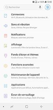 Samsung Galaxy A6 - Wifi - configuration manuelle - Étape 3