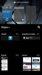 HTC One - Prise en main - Installation de widgets et d