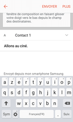 Samsung Galaxy Xcover 3 VE - E-mail - envoyer un e-mail - Étape 8