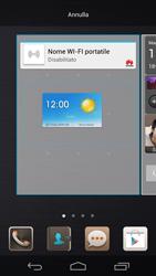 Huawei Ascend P6 - Operazioni iniziali - Installazione di widget e applicazioni nella schermata iniziale - Fase 7