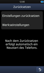 Samsung Wave 3 - Fehlerbehebung - Handy zurücksetzen - 8 / 10