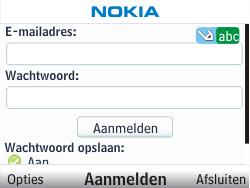 Nokia C3-00 - E-mail - Handmatig instellen - Stap 7