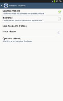 Samsung Galaxy Tab 3 8-0 LTE - Internet et roaming de données - Configuration manuelle - Étape 6
