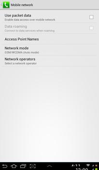 Samsung P3100 Galaxy Tab 2 7-0 - Internet - Manual configuration - Step 7