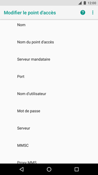 Huawei Nexus 6P - Android Oreo - MMS - configuration manuelle - Étape 9