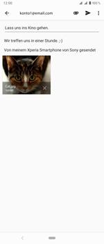 Sony Xperia 1 - E-Mail - E-Mail versenden - Schritt 16