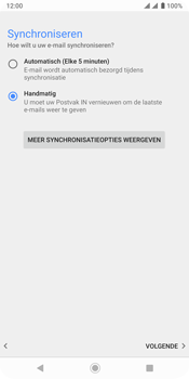Sony xperia-xz3-dual-sim-model-h9436 - E-mail - Account instellen (POP3 zonder SMTP-verificatie) - Stap 19