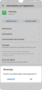 Huawei P30 - Applications - Supprimer une application - Étape 7