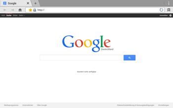 Samsung T535 Galaxy Tab 4 10.1 - Internet und Datenroaming - Verwenden des Internets - Schritt 8