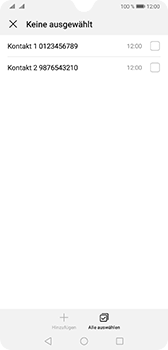 Huawei Mate 20 - Anrufe - Anrufe blockieren - Schritt 9