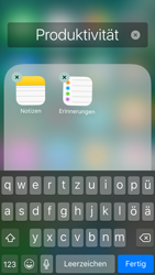 Apple iPhone 5s iOS 10 - Startanleitung - Personalisieren der Startseite - Schritt 6