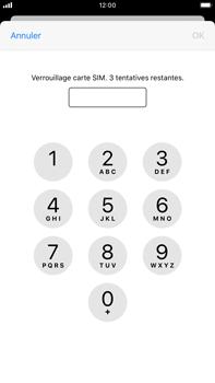 Apple iPhone 8 Plus - iOS 13 - Prise en main - Comment activer un code SIM - Étape 6