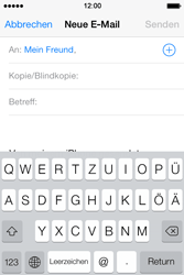 Apple iPhone 4 S - E-Mail - E-Mail versenden - 6 / 16