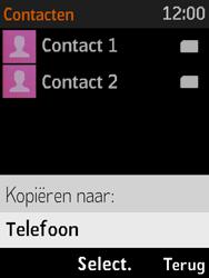 Nokia 3310 3G (TA-1022) - Contacten en data - Contacten kopiëren van SIM naar toestel - Stap 7