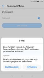 Huawei P10 - E-Mail - Konto einrichten (yahoo) - Schritt 6