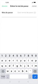 Oppo Find X2 Neo - Internet et connexion - Accéder au réseau Wi-Fi - Étape 7