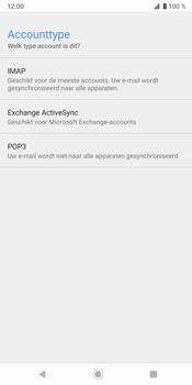 Sony Xperia XZ3 - E-mail - Handmatig instellen - Stap 11