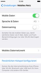 Apple iPhone 5 mit iOS 9 - Netzwerk - Netzwerkeinstellungen ändern - Schritt 4