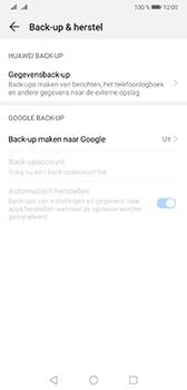 Huawei Mate 20 - Data - maak een back-up met je account - Stap 5