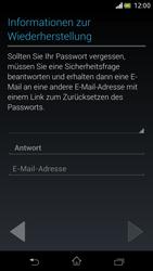 Sony Xperia V - Apps - Einrichten des App Stores - Schritt 15