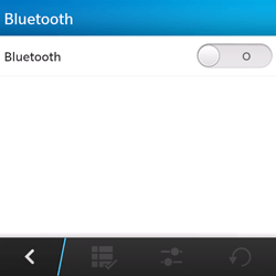 BlackBerry Q5 - bluetooth - aanzetten - stap 6