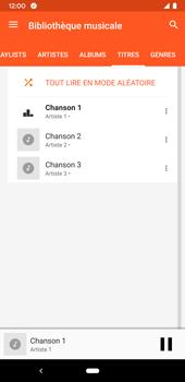 Google Pixel 3a - Photos, vidéos, musique - Ecouter de la musique - Étape 8