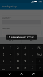 HTC One Mini 2 - Email - Manual configuration POP3 with SMTP verification - Step 12