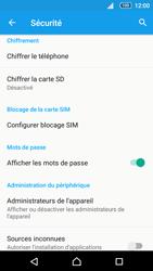 Sony Xperia Z5 Compact - Sécuriser votre mobile - Personnaliser le code PIN de votre carte SIM - Étape 5