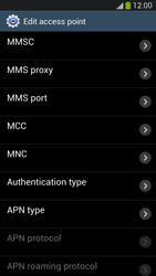 Samsung Galaxy S 4 LTE - MMS - Manual configuration - Step 12
