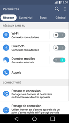 LG LG K10 4G (K420) - Wifi - configuration manuelle - Étape 3