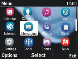 Nokia Asha 201 - SMS - Manual configuration - Step 3