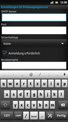 Sony Xperia S - E-Mail - Konto einrichten - Schritt 11