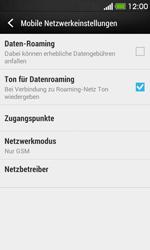 HTC Desire 500 - Netzwerk - Netzwerkeinstellungen ändern - 7 / 7