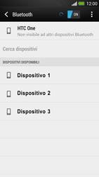 HTC One - Bluetooth - Collegamento dei dispositivi - Fase 7